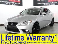 Lexus IS 200t PREMIUM PKG NAVIGATION SUNROOF BLIND SPOT ASSIST LEATHER HEATED COOLED SEAT 2016