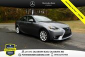 2016 Lexus IS 300 ** AWD ** Pohanka Certified 10 year / 100,000 **