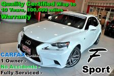 2016 Lexus IS 300 AWD - F Sport CARFAX Certified 1 Owner - No Accidents - Fully Serviced - Quality Certified W/up to 10 Years, 100,000 miles Warranty