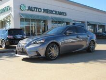 2016_Lexus_IS_300 AWD F SPORT  2.0L 4CYL AUTOMATIC, NAVIGATION, SUNROOF, BACK-UP CAMERA, BLIND SPOT MONITOR_ Plano TX
