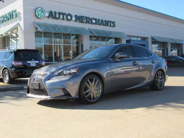 2016 Lexus IS 300 AWD F SPORT  2.0L 4CYL AUTOMATIC, NAVIGATION, SUNROOF, BACK-UP CAMERA, BLIND SPOT MONITOR Plano TX