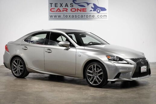 2016 Lexus IS 300 AWD F-SPORT PREFERRED ACCESSORY PACKAGE BLIND SPOT MONITORING NA Carrollton TX