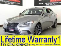 Lexus IS 300 AWD F Sport Navigation Blind Spot Assist Sunroof Leather Heated/Cooled Seat 2016