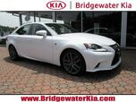 2016 Lexus IS 300 AWD Sedan, F Sport Package, Navigation, Rear-View Camera, Blind Spot Monitor, Bluetooth Streaming Audio, Ventilated Sport Seats, Power Sunroof, Sport Suspension, 18-Inch Alloy Wheels,