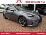 2016 Lexus IS 300 AWD Sedan, F Sport Package, Navigation, Rear-View Camera, Red Leather Interior, Heated Sport Seats, Power Sunroof, 18-Inch Alloy Wheels,