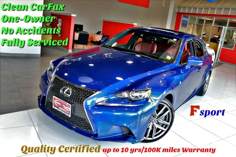 2016 Lexus IS 300 F-Sport  Springfield NJ