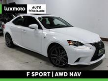 2016_Lexus_IS 300_F Sport AWD Htd & Cooled Seats Nav Back-Up Cam_ Portland OR