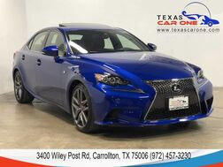 2016_Lexus_IS 350_AWD F SPORT NAVIGATION PACKAGE BLIND SPOT MONITORING SUNROOF LEA_ Carrollton TX