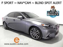 Lexus IS 350 *F SPORT, NAVIGATION, BLIND SPOT ALERT, BACKUP-CAMERA, MOONROOF, CLIMATE SEATS, BLUETOOTH PHONE & AUDIO 2016