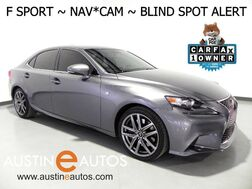 2016_Lexus_IS 350_*F SPORT, NAVIGATION, BLIND SPOT ALERT, BACKUP-CAMERA, MOONROOF, CLIMATE SEATS, BLUETOOTH PHONE & AUDIO_ Round Rock TX