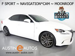 2016_Lexus_IS 350_*F SPORT PKG, NAVIGATION, BLIND SPOT ALERT, BACKUP-CAMERA, MOONROOF, CLIMATE SEATS, BLUETOOTH PHONE & AUDIO_ Round Rock TX