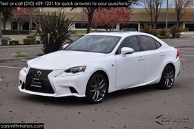 2016_Lexus_IS 350 F SPORT Red Interior/Levinson ONLY 9K MILES!!!!_One Owner Blind Spot/Radar Cruise w Pre Collision_ Fremont CA