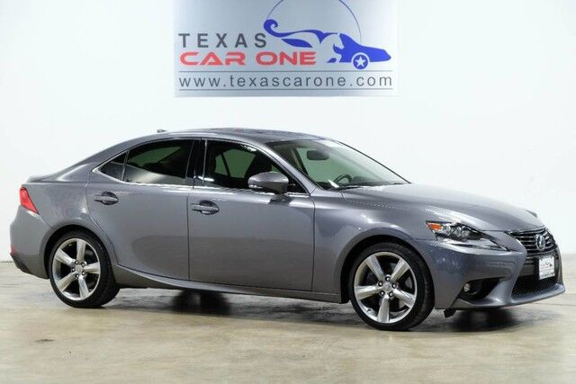 2016 Lexus IS 350 PREMIUM PLUS PKG PREMIUM PKG BLIND SPOT MONITORING NAVIGATION SUNROOF Addison TX
