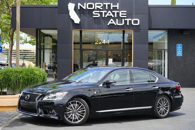 2016_Lexus_LS 460__ Walnut Creek CA