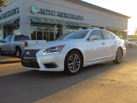 2016 Lexus LS 460 Luxury Sedan LEATHER SEATS, NAVIGATION SYSTEM, REAR PARKING AID, FRONT HEAT/COOLED SEATS Plano TX