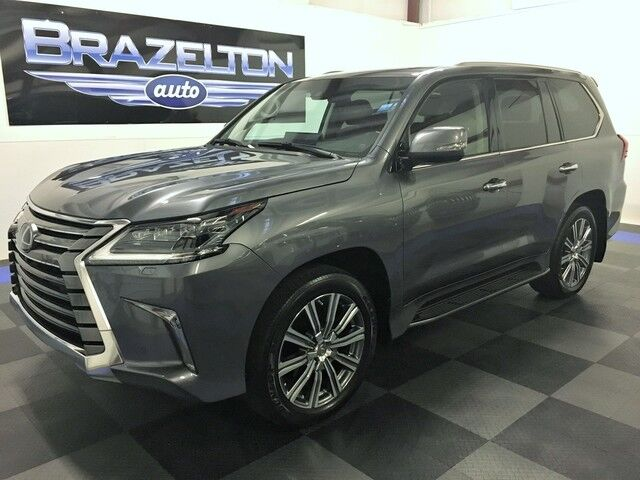 2016 Lexus LX 570 Lux Pkg, Dual DVD, Mark Levinson Sound, 21in Wheels Houston TX
