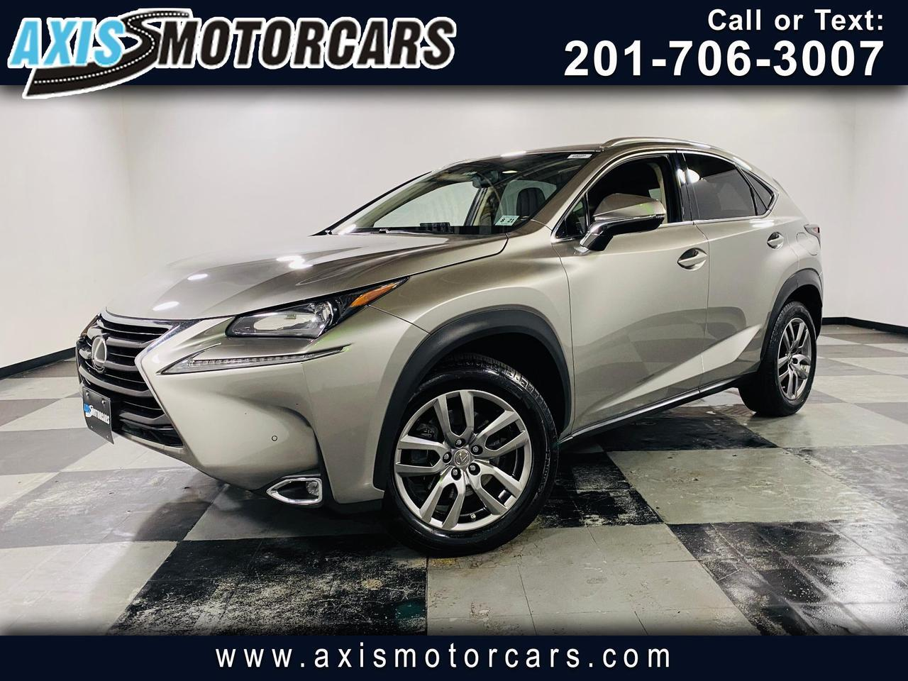 2016 Lexus NX 200t AWD 4dr Jersey City NJ