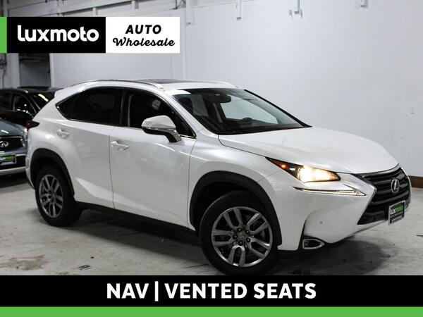 2016_Lexus_NX 200t_AWD Heated & Cooled Seats Nav Back-Up Camera_ Portland OR