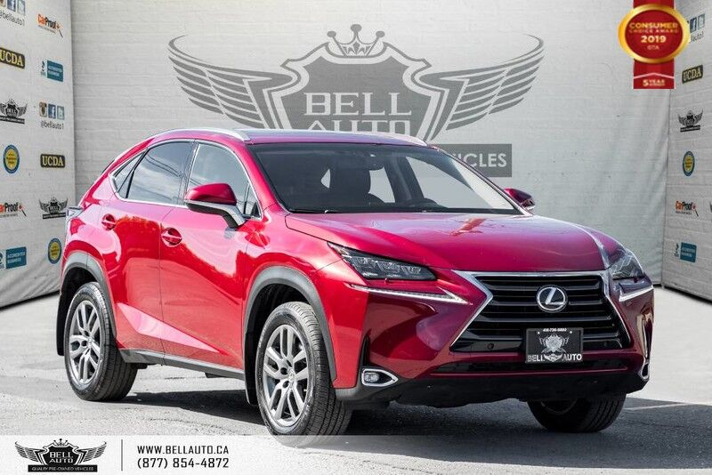 2016 Lexus NX 200t AWD, NAVI, BACK-UP CAM, BLINDSPOT, COOLED SEATS,