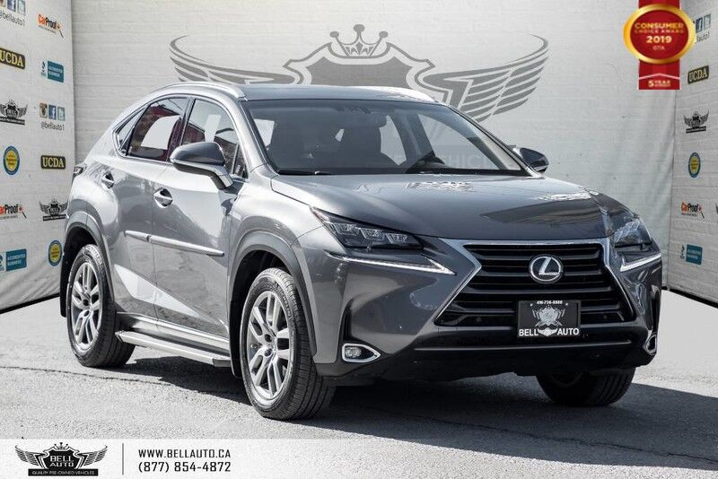 2016 Lexus NX 200t AWD, NO ACCIDENT, COLLISION PREV, NAVI, BACK-UP CAM, SUNROOF