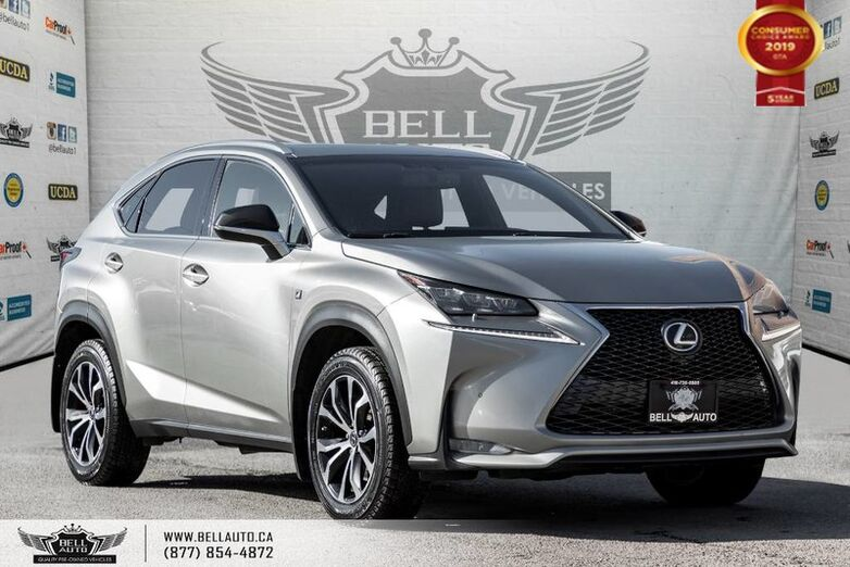 2016 Lexus NX 200t AWD, NO ACCIDENT, NAVI, BACK-UP CAM, SENSORS Toronto ON