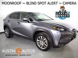 2016 Lexus NX 200t *BLIND SPOT ALERT, BACKUP-CAMERA, MOONROOF, CLIMATE FRONT SEATS, POWER TAILGATE, ALLOY WHEELS, BLUETOOTH PHONE & AUDIO