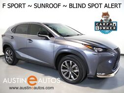 2016_Lexus_NX 200t_*F SPORT, BLIND SPORT ALERT, BACKUP-CAMERA, MOONROOF, HEATED SEATS, INTUITIVE PARK ASSIST, POWER LIFTGATE, BLUETOOTH PHONE & AUDIO_ Round Rock TX
