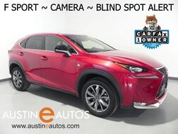 2016_Lexus_NX 200t_*F SPORT, BLIND SPOT ALERT, BACKUP-CAMERA, MOONROOF, HEATED SEATS & STEERING WHEEL, POWER LIFTGATE, BLUETOOTH PHONE & AUDIO_ Round Rock TX