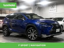 2016_Lexus_NX 200t_F Sport AWD Nav Heated Seats Blind Spot Assist_ Portland OR