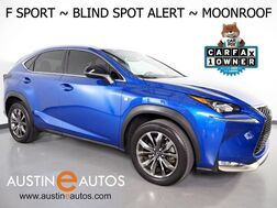 2016_Lexus_NX 200t F Sport_*BLIND SPOT ALERT, BACKUP-CAMERA, MOONROOF, HEATED SEATS, INTUITIVE PARK ASSIST, POWER LIFTGATE, BLUETOOTH PHONE & AUDIO_ Round Rock TX