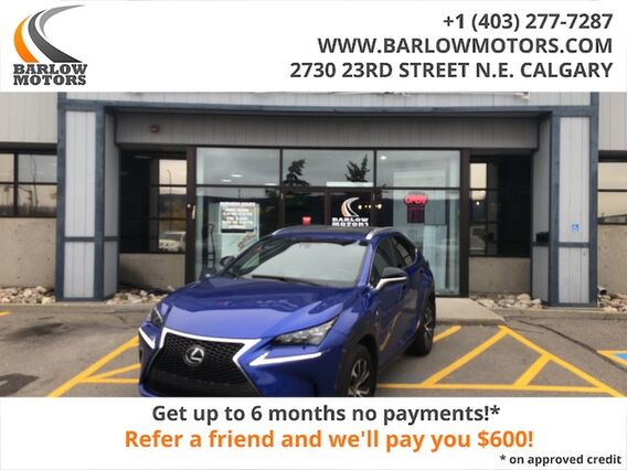 2016_Lexus_NX 200t F Sport Fully Equipped No Accidents Local Vehicle__ Calgary AB