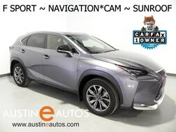 2016_Lexus_NX 200t F Sport_*NAVIGATION, BLIND SPOT ALERT, BACKUP-CAMERA, MOONROOF, LED HEADLAMPS, HEATED SEATS/STEERING WHEEL, POWER LIFTGATE, BLUETOOTH PHONE & AUDIO_ Round Rock TX