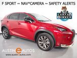 2016 Lexus NX 200t F Sport *NAVIGATION, PRE-COLLISION ALERT, BLIND SPORT ALERT, BACKUP-CAMERA, MOONROOF, HEATED SEATS, INTUITIVE PARK ASSIST, POWER LIFTGATE, LED HEADLAMPS, BLUETOOTH