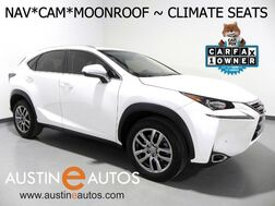 2016_Lexus_NX 200t_*NAVIGATION, BLIND SPOT ALERT, BACKUP-CAMERA, MOONROOF, CLIMATE SEATS, POWER LIFTGATE, BLUETOOTH PHONE & AUDIO_ Round Rock TX