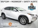 2016 Lexus NX 200t *NAVIGATION, PRE-COLLISION ALERT w/BRAKE ASSIST, BLIND SPOT ALERT, BACKUP-CAMERA, MOONROOF, CLIMATE SEATS, POWER TAILGATE, BLUETOOTH PHONE & AUDIO