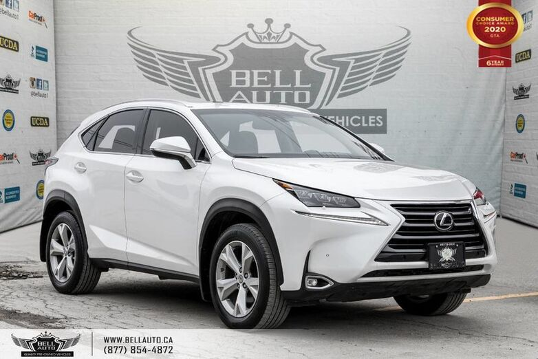 2016 Lexus NX 200t NO ACCIDENT, AWD, HEADS-UP DIS, NAVI, REAR CAM, B.SPOT Toronto ON