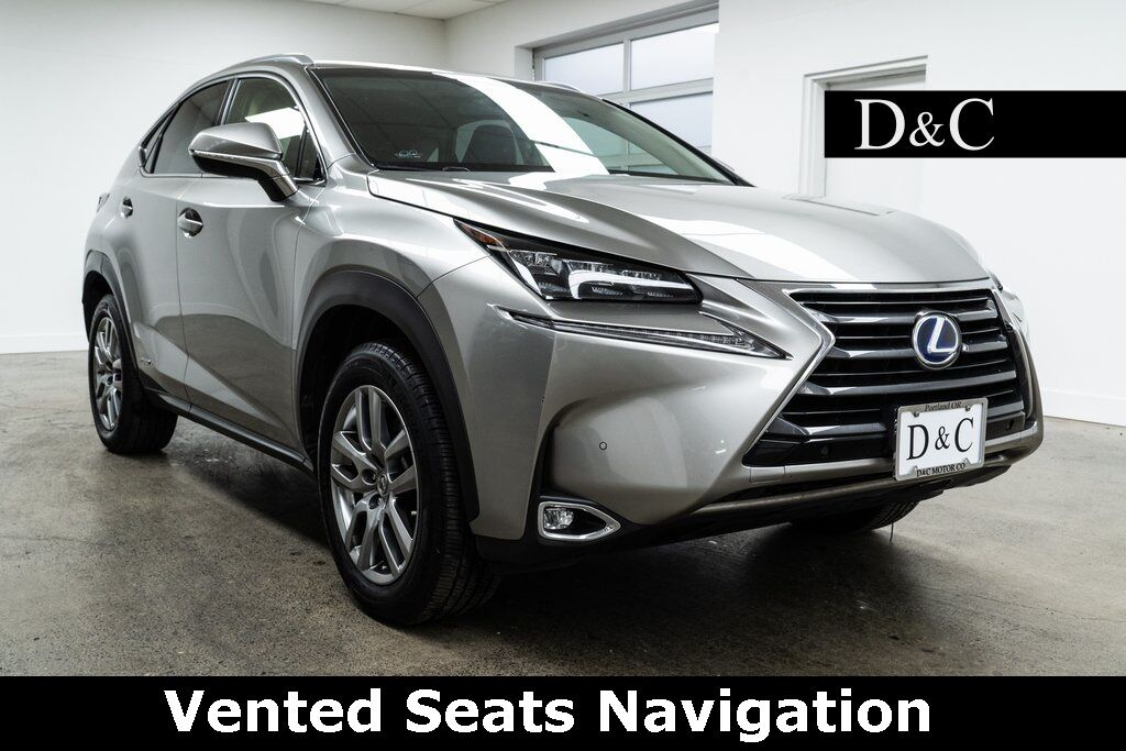 2016 Lexus NX 300h Vented Seats Navigation Portland OR