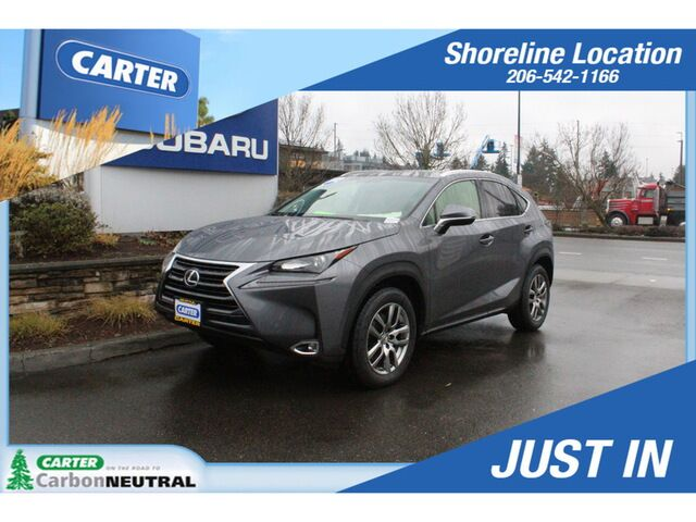2016 Lexus NX200T AWD Seattle WA