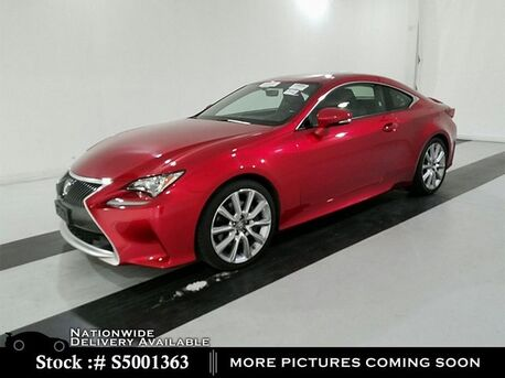 2016_Lexus_RC_200t CAM,SUNROOF,CLMT STS,BLIND SPOT,18IN WLS_ Plano TX