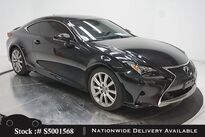 Lexus RC 200t CAM,SUNROOF,CLMT STS,BLIND SPOT,19IN WLS 2016