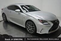 Lexus RC 200t F SPORT,NAV READY,CAM,SUNROOF,CLMT STS,BLIND 2016