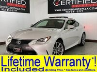 Lexus RC 300 AWD SUNROOF REAR CAMERA BLIND SPOT ASSIST LANE ASSIST HEATED COOLED LEATHER 2016
