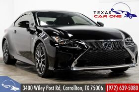 2016_Lexus_RC 350_F-SPORT BLIND SPOT MONITORING PRE-COLLISION SYSTEM NAVIGATION MARK LEVINSON AUDIO_ Carrollton TX