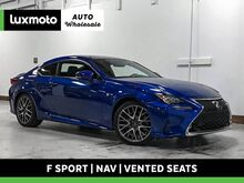 2016_Lexus_RC 350_F Sport Nav Vented Seats Blind Spot & Park Assist_ Portland OR