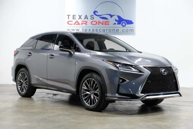 2016 Lexus RX 350 AWD F-SPORT BLIND SPOT MONITORING INTUITIVE PARKING ASSIST NAVIG Carrollton TX