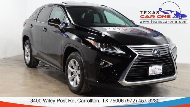 2016 Lexus RX 350 AWD LEXUS SAFETY SYSTEM PLUS PREMIUM PKG NAVIGATION BLIND SPOT ASSIST Carrollton TX