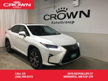 2016_Lexus_RX 350_AWD /NO ACC/HEATED AND VENTILATED LEATHER SEATS/BACK UP CAM/BLUETOOTH/NAVIGATION_ Winnipeg MB