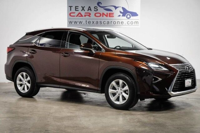 2016 Lexus RX 350 AWD PREMIUM PACKAGE BLIND SPOT MONITORING SUNROOF LEATHER SEATS Carrollton TX