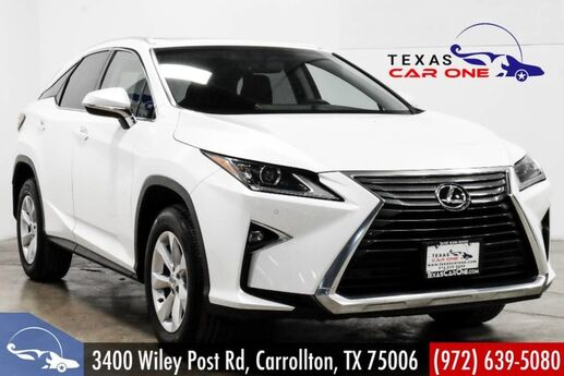 2016 Lexus RX 350 AWD PREMIUM PKG BLIND SPOT MONITORING INTUITIVE PARK ASSIST NAVIGATION Carrollton TX