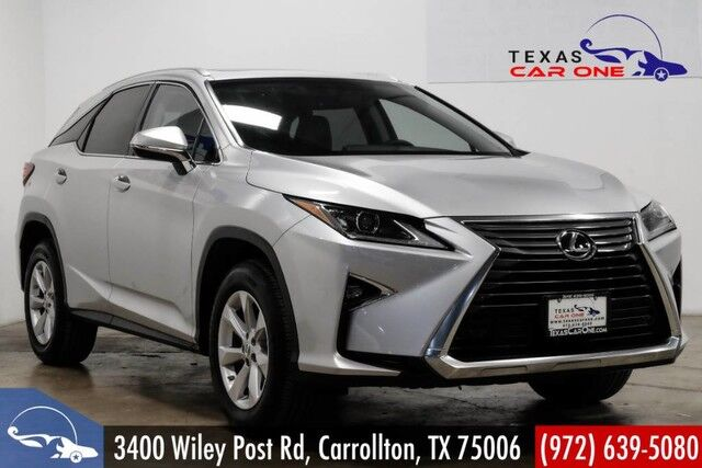 2016 Lexus RX 350 AWD PREMIUM PKG BLIND SPOT MONITORING SUNROOF LEATHER BACKUP CAM Carrollton TX